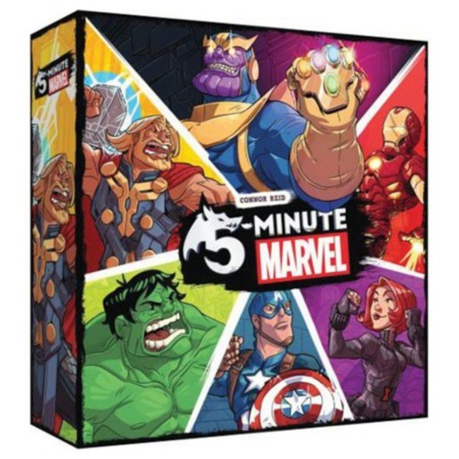 Spin Master 5 Minute Marvel [English]