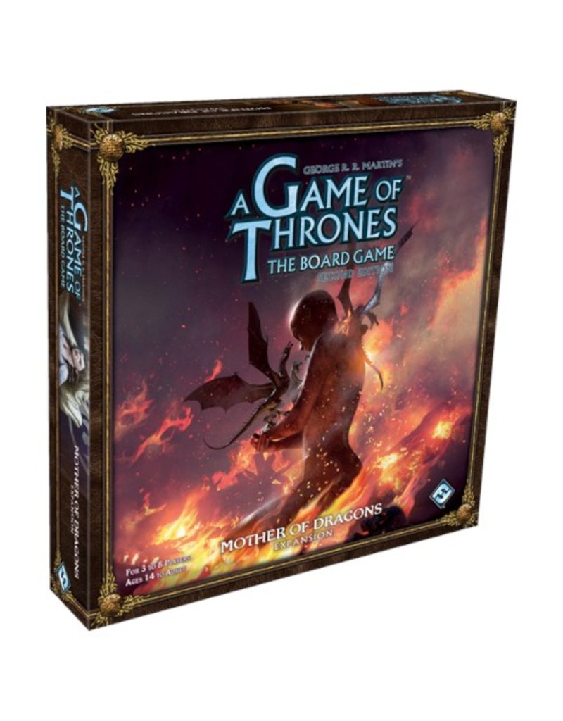 Fantasy Flight Games A Game of Thrones - The Board Game (Second Edition) : Mother of Dragons [anglais]