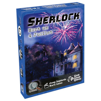 Geek Attitude Games Sherlock (Q System) - Mort un 4 juillet [French]