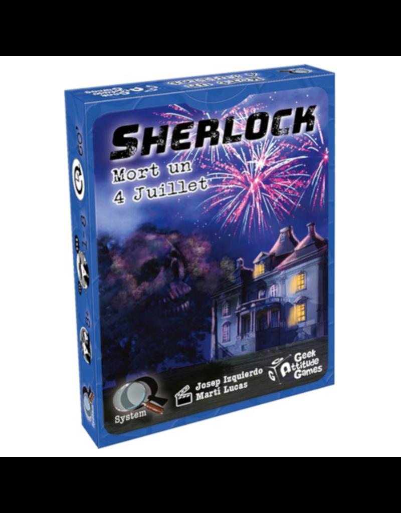 Geek Attitude Games Sherlock (Q System) - Mort un 4 juillet [français]