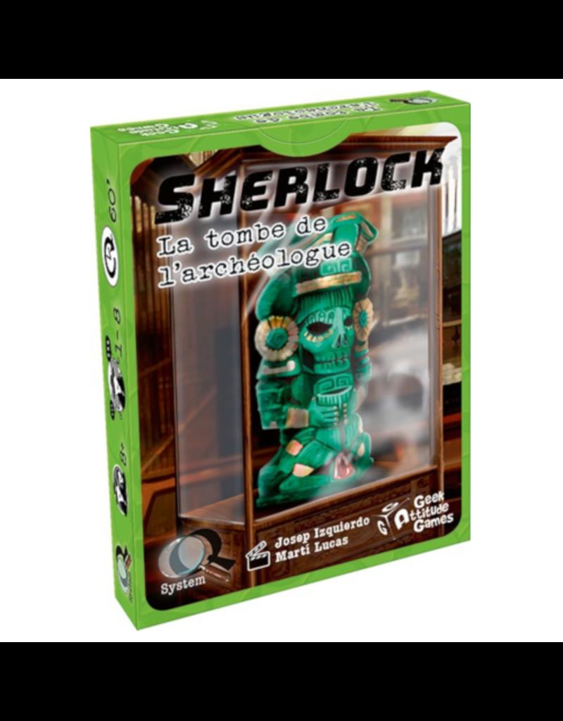Geek Attitude Games Sherlock (Q System) - La tombe de l'archéologue [français]