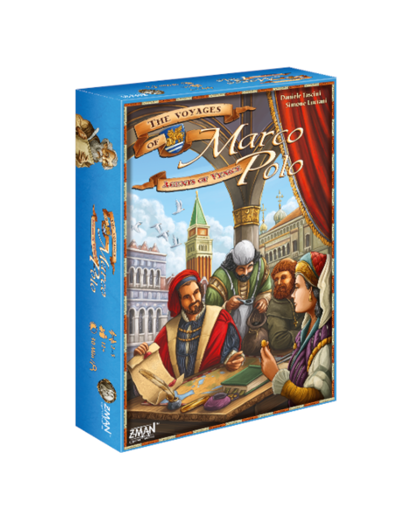 Z-Man Voyages of Marco Polo (the) : Agents of Venice [anglais]