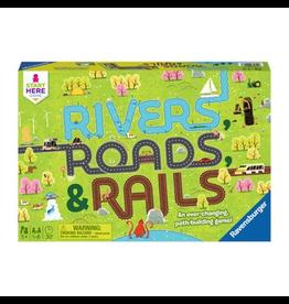 Ravensburger Rivers, Roads & Rails [anglais]