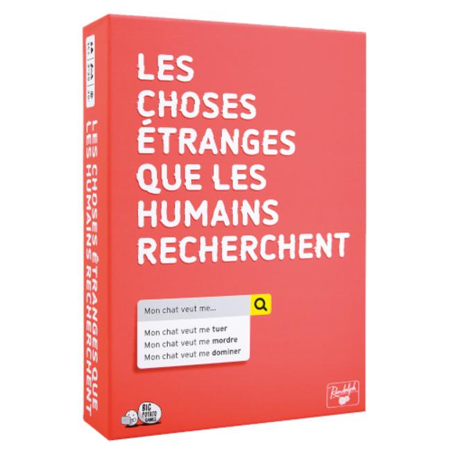 Big Potato Games Choses étranges que les humains cherchent (les) [French]