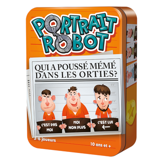 Cocktail Games Portrait Robot [French]