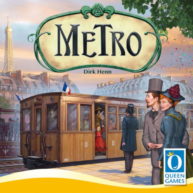 Queen Games Metro [English]