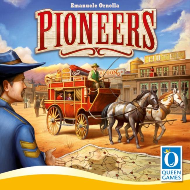 Queen Games Pioneers [multilingue]