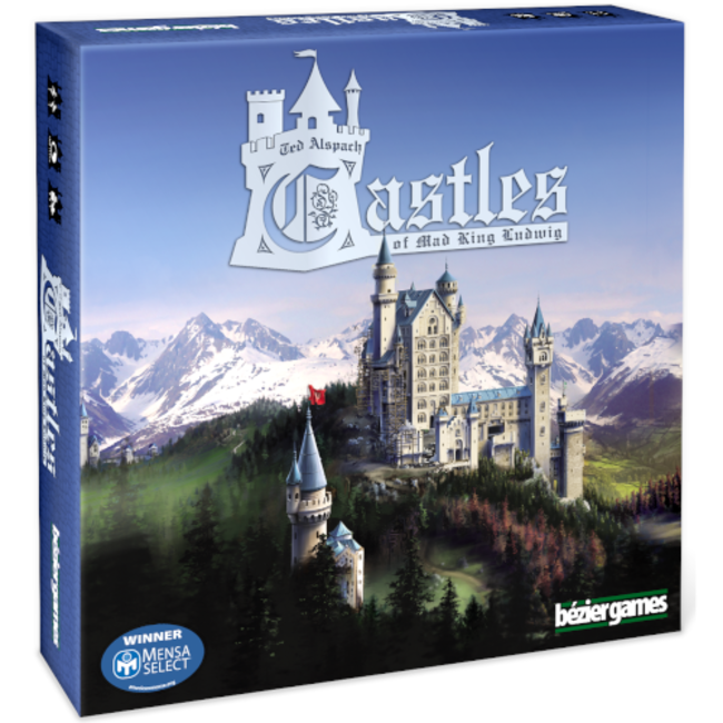 Bézier Games Castles of Mad King Ludwig [English]
