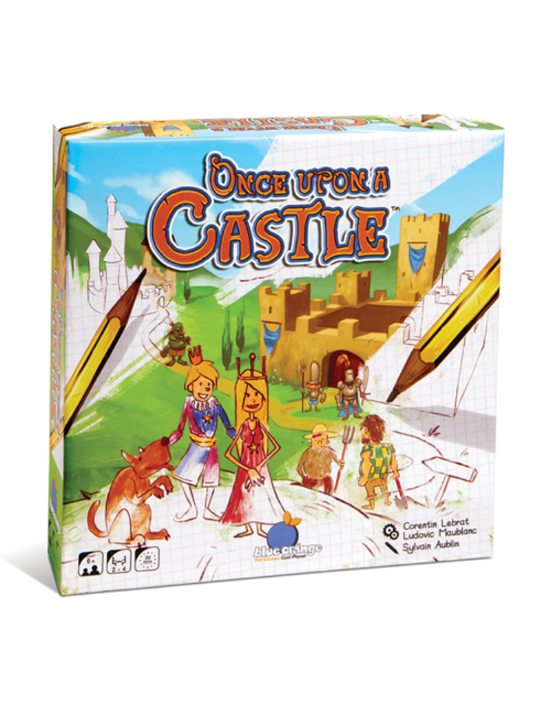 Blue Orange Once Upon a Castle [multilingue]