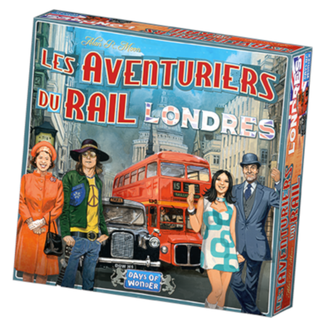 Days of Wonder Aventuriers du Rail (les) - Londres [French]