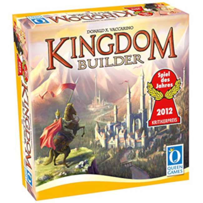 Queen Games Kingdom Builder [Multi]