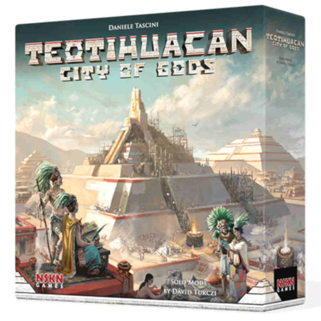 Board & Dice Teotihuacan - City of Gods [anglais]
