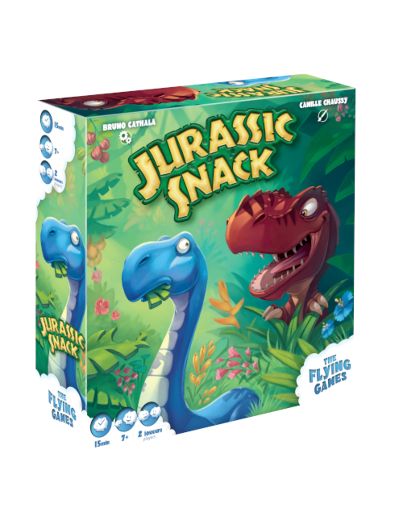 The Flying Games Jurassic Snack [multilingue]