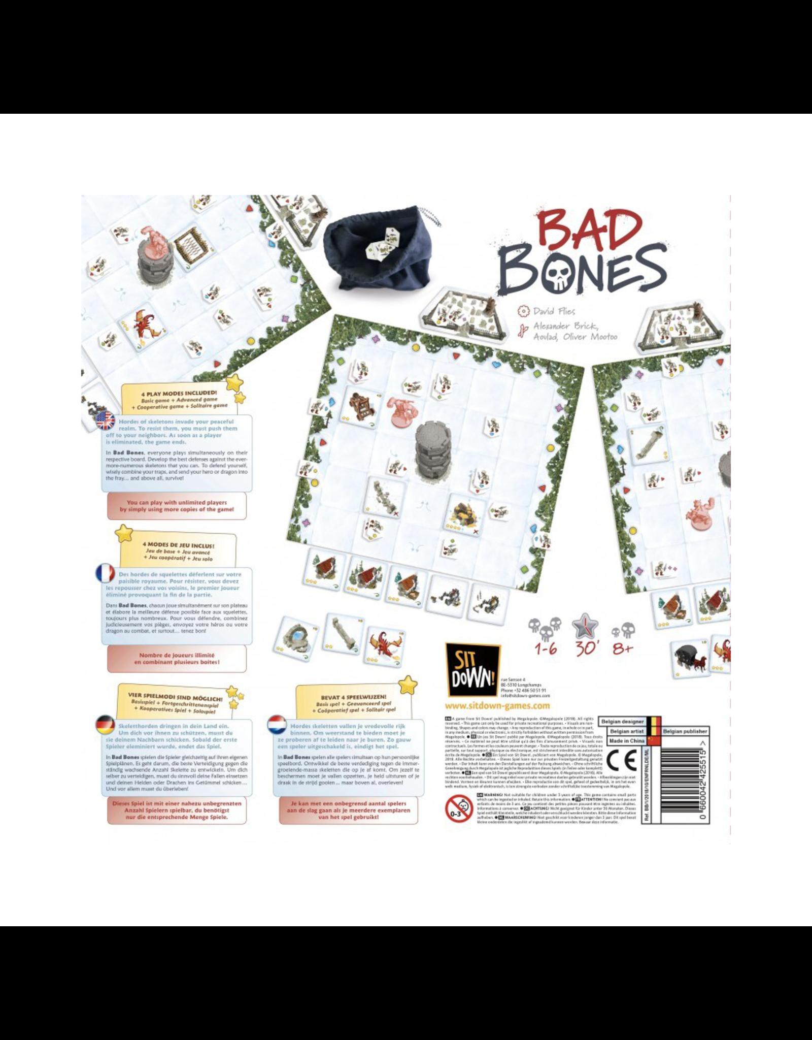 Sit Down ! Bad Bones [multilingue]