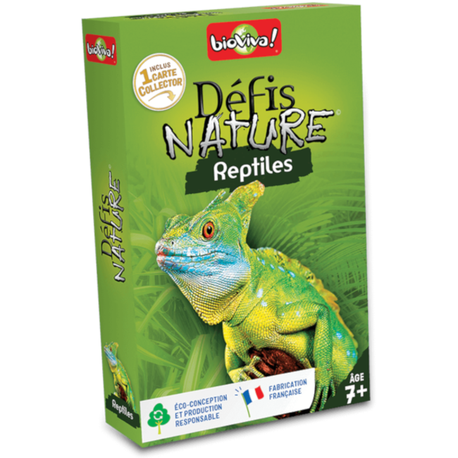 BioViva Défis Nature - Reptiles [French]