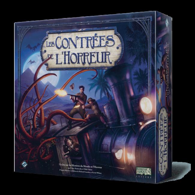 Fantasy Flight Games Contrées de l'horreur (les) [French]