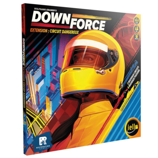 Iello DownForce : Circuit Dangereux [French]