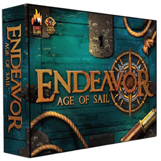Burnt Island Games Endeavor - Age of Sail [English]