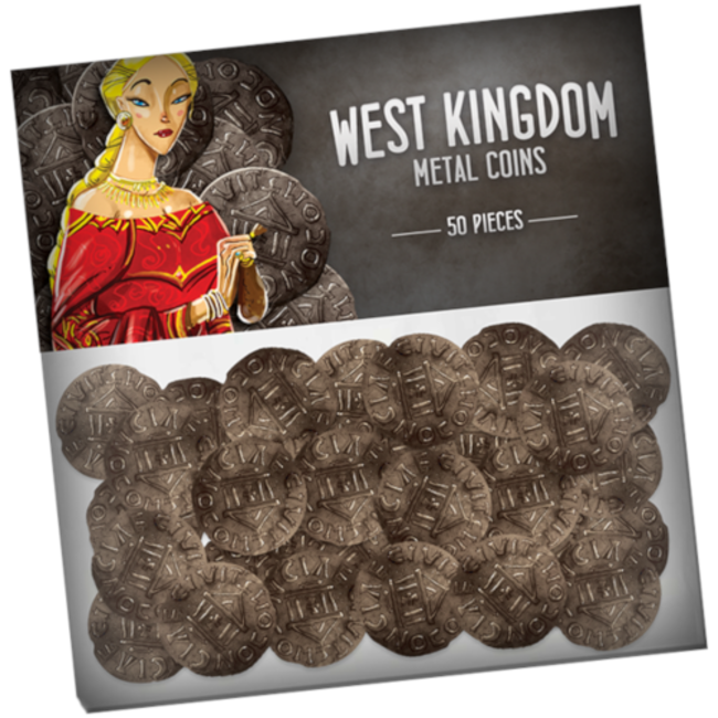 Pixie Games Architects of the West Kingdom : Metal Coins