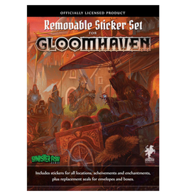 Cephalofair Games Gloomhaven : Removable Sticker Set [anglais]