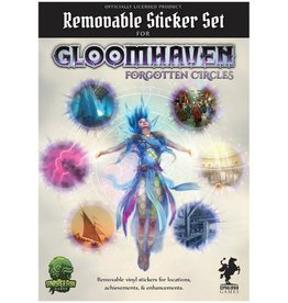 Cephalofair Games Gloomhaven : Removable Sticker Set - Forgotten Circles [anglais]