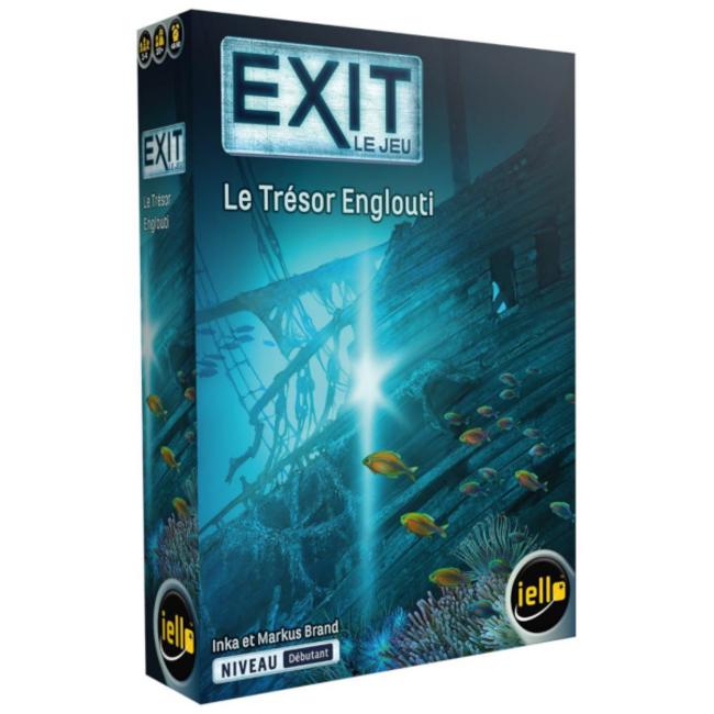 Iello Exit (8) - Le trésor englouti [français]
