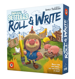 Portal Games Imperial Setttlers - Roll & Write [anglais]