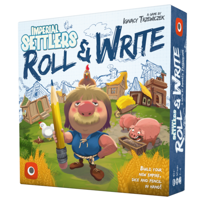 Portal Games Imperial Settlers - Roll & Write [English]