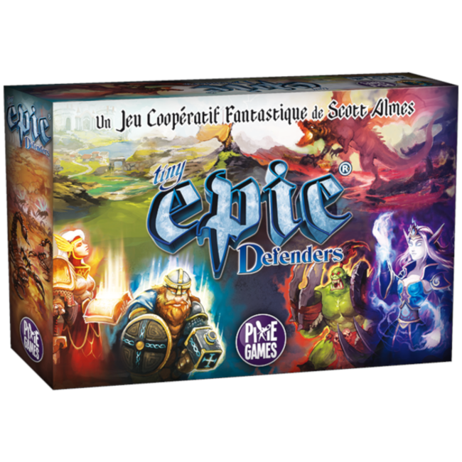 Pixie Games Tiny Epic Defenders [French]