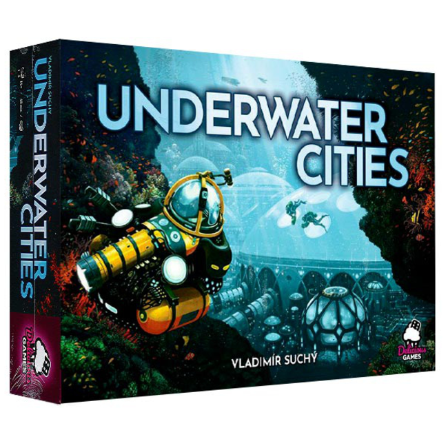 Rio Grande Games Underwater Cities [English]