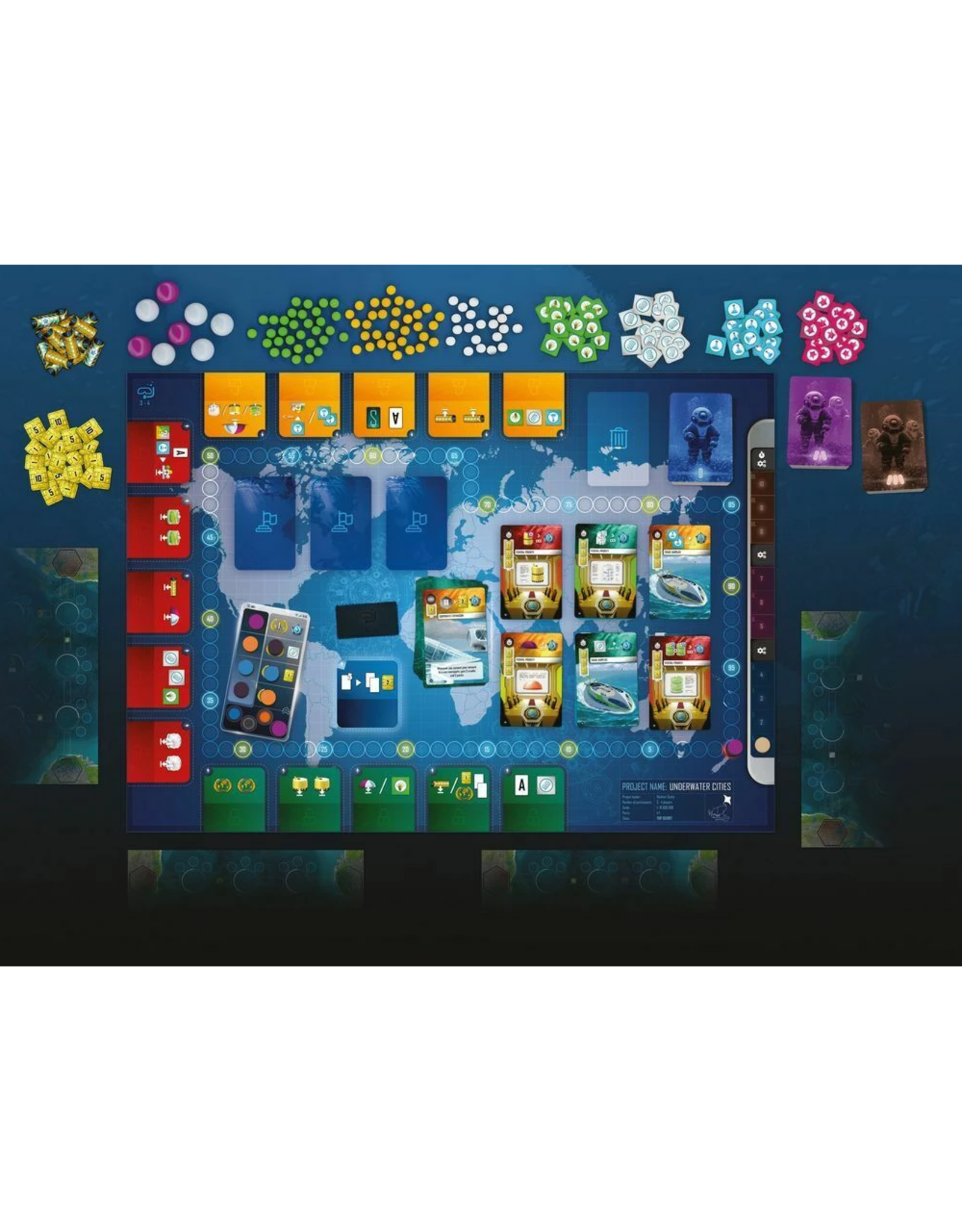 Rio Grande Games Underwater Cities [anglais]