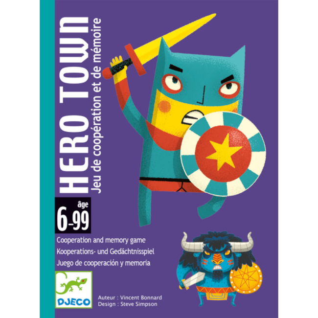 Djeco Hero Town [multilingue]