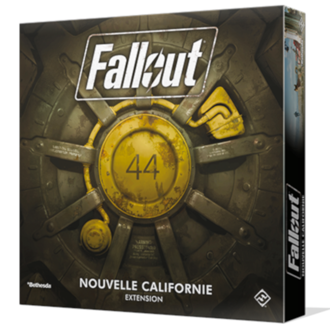 Fantasy Flight Games Fallout : Nouvelle Californie [French]