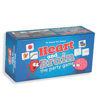 Akward Yeti Heart and Brain - The Party Game [anglais]