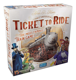 Days of Wonder Ticket to Ride - 15th Anniversary Edition [anglais]