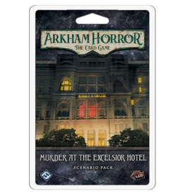 Fantasy Flight Games Arkham Horror - The Card Game (LCG) : Murder at the Excelsior Hotel [anglais]