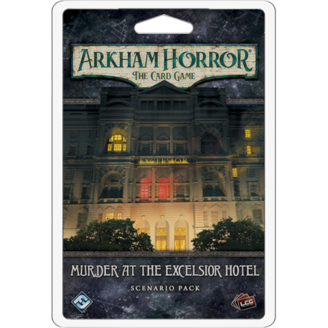 Fantasy Flight Games Arkham Horror - The Card Game (LCG) : Murder at the Excelsior Hotel [English]