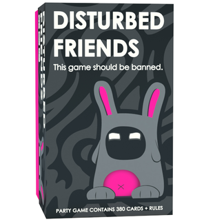 Friendly Rabbit Inc. Disturbed Friends [English]