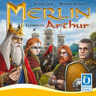 Queen Games Merlin : Arthur Expansion [Multi]