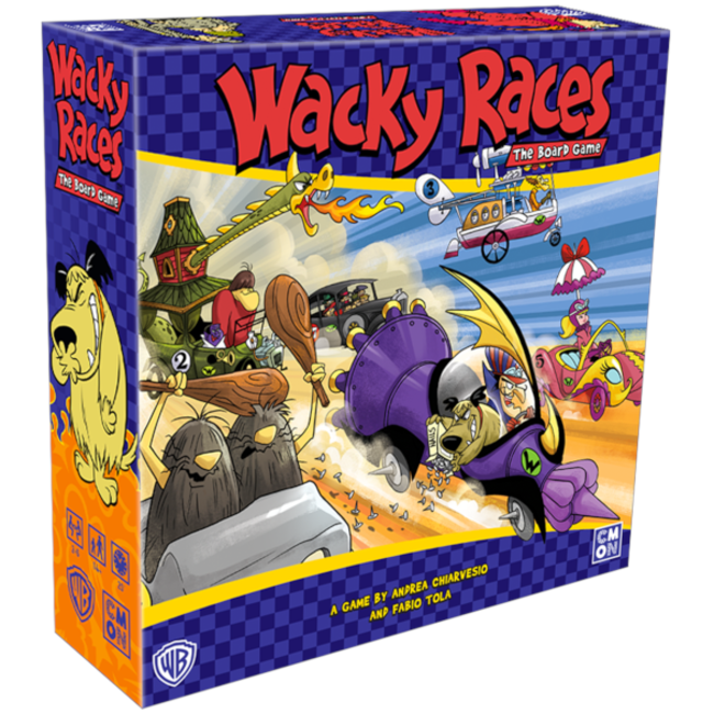 CMON Wacky Races - The Board Game [anglais]