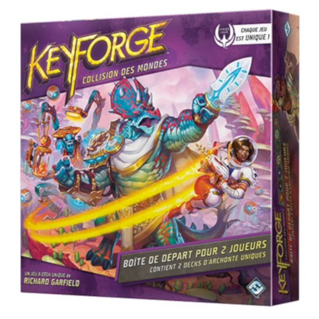 Fantasy Flight Games Keyforge - Collision des mondes [français]