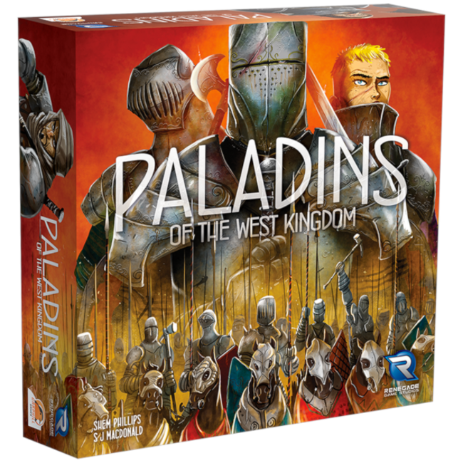 Renegade Game Studios Paladins of the West Kingdom [English]
