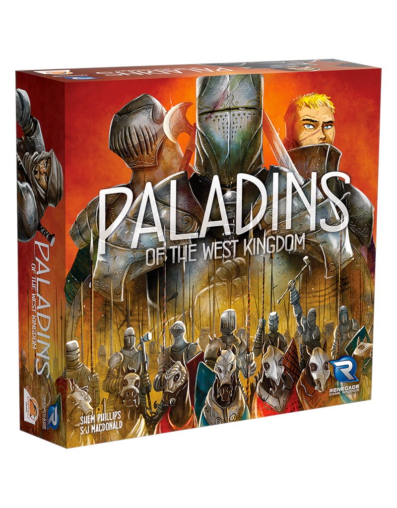 Renegade Game Studios Paladins of the West Kingdom [anglais]