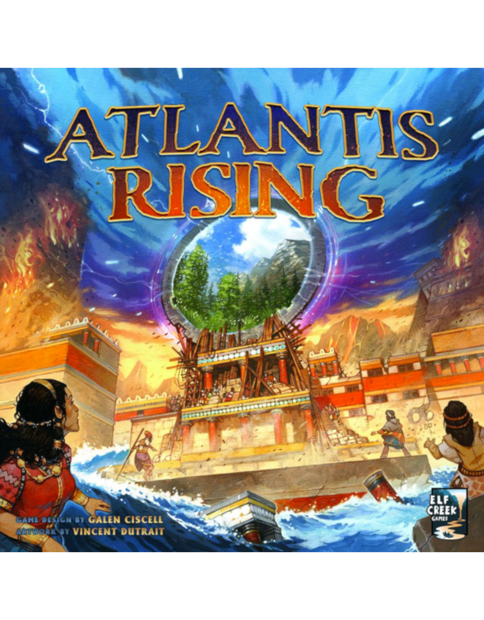 Elf Creek Games Atlantis Rising (second edition) [anglais]