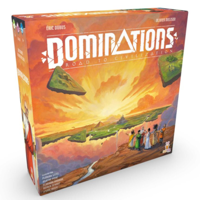 Holy Grail Games Dominations - Road to Civilisation [French]