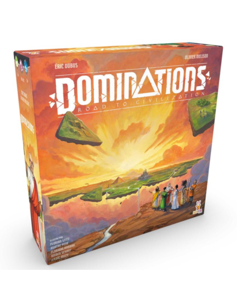 Holy Grail Games Domination - Road to Civilisation [français]
