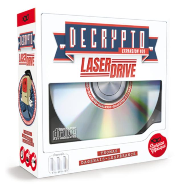 Scorpion Masqué Decrypto : Laser Drive [French]