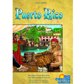 Rio Grande Games Puerto Rico - Deluxe Edition [English]