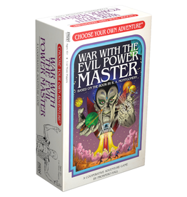 Z-Man Choose your own Adventure (2) - War with the Evil Power Master [anglais]