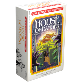 Z-Man Choose your own Adventure (1) - House of Danger [English]
